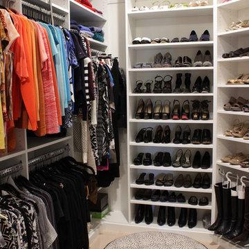 Simply Elegant Walk-In Master Closet