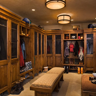 Design ideas for a traditional storage and wardrobe in Other.