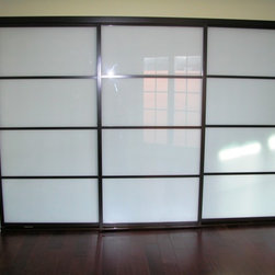 Sliding Doors - Frosted Glass -