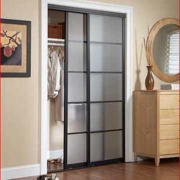 Sliding Doors - Frosted Glass