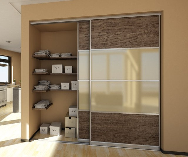 Contemporary Closet by Mayor of Hardware