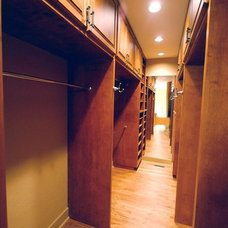 Traditional Closet by Smithport Cabinetry