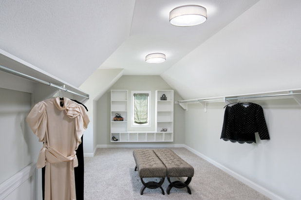 Contemporary Closet by Solar Light