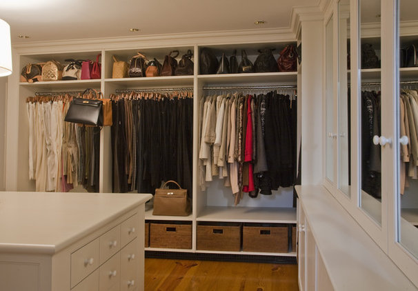 Traditional Closet by Jarrett Vaughan Builders, Inc.
