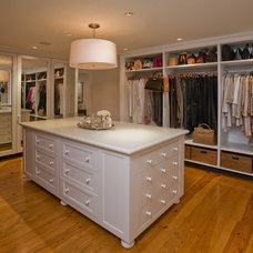 Traditional Closet by Jarrett Vaughan Builders, Inc.