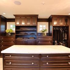 Traditional Closet by Beyond Beige Interior Design Inc.