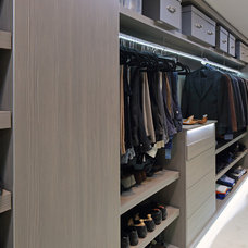 Contemporary Closet by Susan Fisher Photography