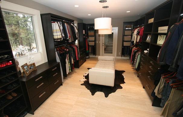 Contemporary Closet by Taylor Design