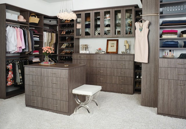 Traditional Cabinet by Tailored Living featuring PremierGarage