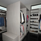 Woodside Residence Contemporary Closet San Francisco