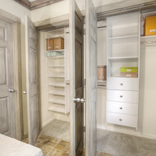 Traditional Closet by Abodian Inc