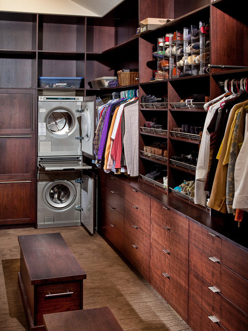 Closet Washer Dryer Houzz