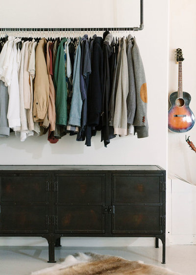 Industrial Wardrobe by Oh beauty Interiors