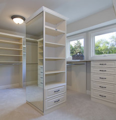traditional closet by Schrader & Companies
