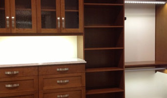 Stain/Varnished Walk-in Closet
