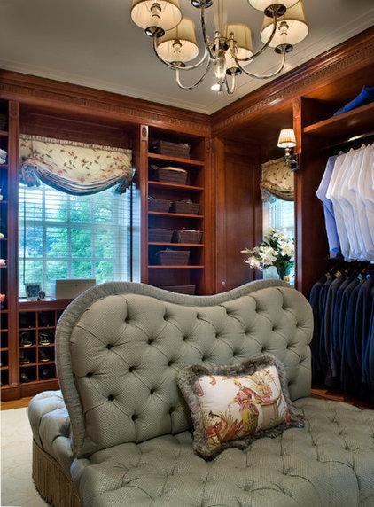 Traditional Closet by Diane Burgoyne Interiors