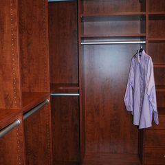 traditional closet by Stephanie Bonini