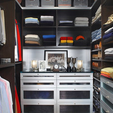 Contemporary Closet by Richard Ross Designs