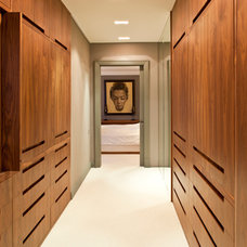 Contemporary Closet by Surfaces and Objects