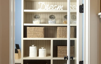 The Organized Home: Shelves, Cupboards and Closets