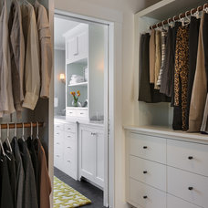 Traditional Closet by Whitten Architects