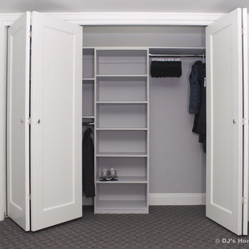 Storage and Closets in Basement by DJ's Home Improvements