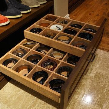 Storage Ideas - Belts