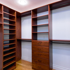 Traditional Closet by Bill Fry Construction - Wm. H. Fry Const. Co.