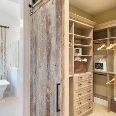 Transitional Closet by Alan Mascord Design Associates Inc