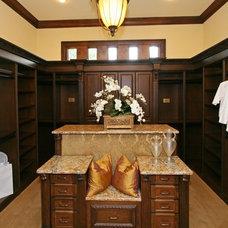 Traditional Closet by MJS Inc. Custom Home Designs