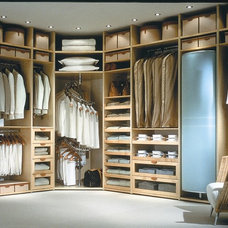 Contemporary Closet by Karlson Kitchens