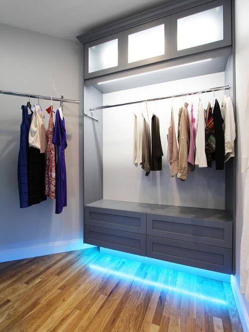 Grandes armoires et dressings avec des portes de placard - Customiser une porte de placard ...