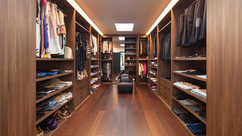 Stunning Wood Wardrobe Room