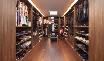 Stunning Wood Wardrobe Room