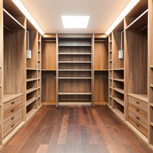 Stunning Wood Wardrobe Room - Raw Wood