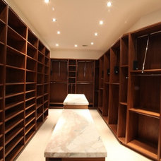 Modern Closet by Collaborative Design Group-Architects & Interiors