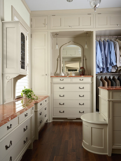 Built in laundry hamper home design ideas renovations for Laundry room connected to master closet