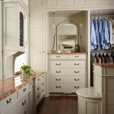 traditional closet by David Heide Design Studio