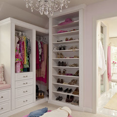 traditional closet by Martha O'Hara Interiors