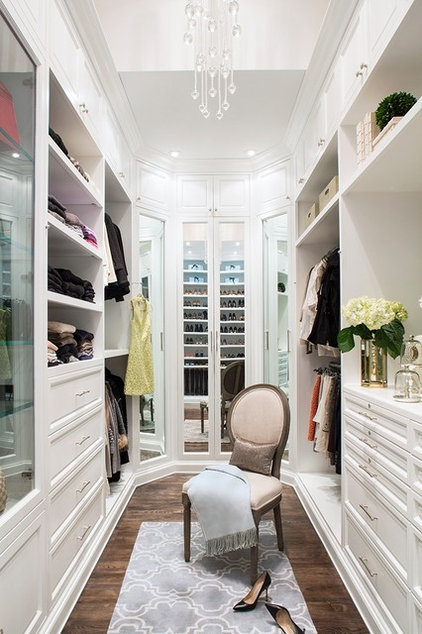 Traditional Closet by Smith Firestone Associates