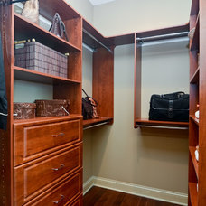 Traditional Closet by Bouchard Properties