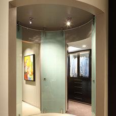 Contemporary Closet by Curtis Laney & Laney, The Design Company, Inc.