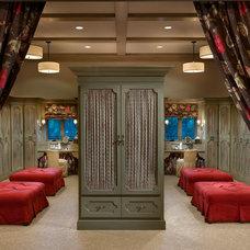Rustic Closet by Vallone Design