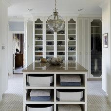 Contemporary Closet by Jeffers Design Group