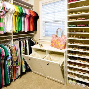 This is an example of a storage and wardrobe in Charleston.
