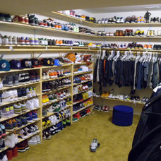 Contemporary Closet Teen's Sneaker Paradise