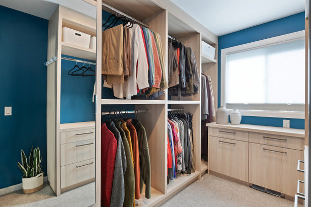 Contemporary Closet by Elle Cherie   Inspired Interiors