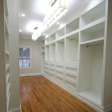 Traditional Closet by Sawdust Girl