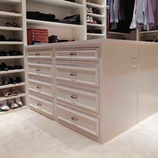 Traditional Closet by Booth Builders, Inc.