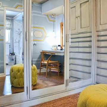 The Bedroom Suite - The Closet - The 2013 Pasadena Showcase House of Design